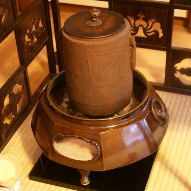 お抹茶を愉しむ 駒場・和楽庵 風炉